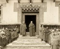 Abbot of the Tatshang Lamas at Tashichhu Jong [Thimphu, Bhutan]